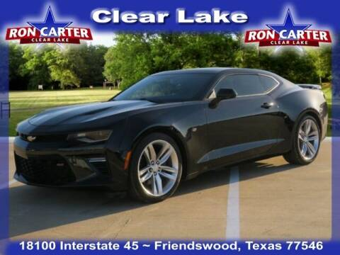 2017 Chevrolet Camaro for sale at Ron Carter  Clear Lake Used Cars in Houston TX
