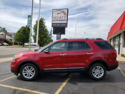 2015 Ford Explorer for sale at Select Auto Group in Wyoming MI