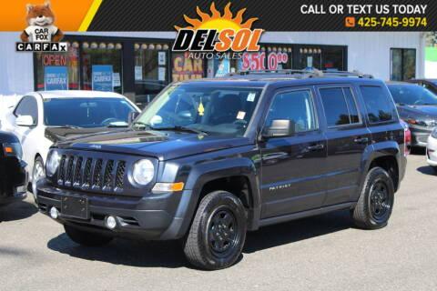 2014 Jeep Patriot for sale at Del Sol Auto Sales in Everett WA