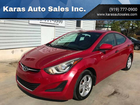2014 Hyundai Elantra for sale at Karas Auto Sales Inc. in Sanford NC