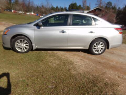 2015 Nissan Sentra for sale at CHRIS AUTO SALES in Roanoke AL