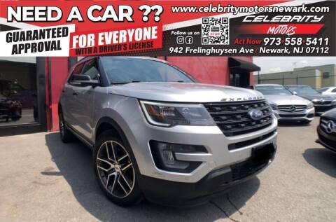2017 Ford Explorer for sale at Celebrity Motors in Newark NJ