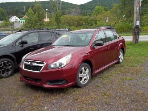2013 Subaru Legacy for sale at Warner's Auto Body of Granville Inc in Granville NY
