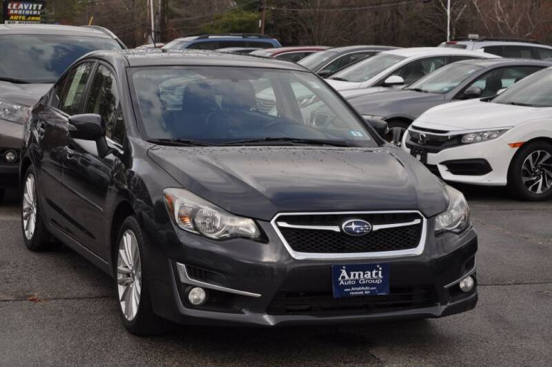 2015 Subaru Impreza for sale at Amati Auto Group in Hooksett NH