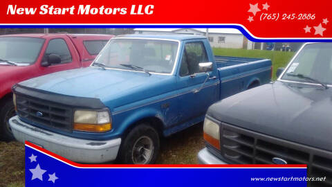 1992 Ford F-150 for sale at New Start Motors LLC - Rockville in Rockville IN
