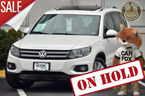 2012 Volkswagen Tiguan for sale at JDM Auto in Fredericksburg VA