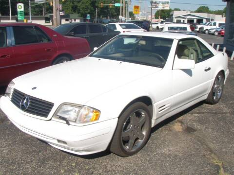 1996 Mercedes-Benz SL-Class for sale at Autoworks in Mishawaka IN