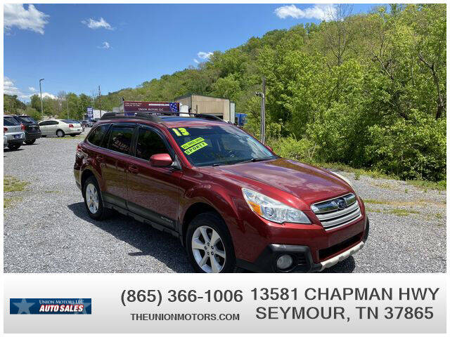 2013 Subaru Outback for sale at Union Motors in Seymour TN