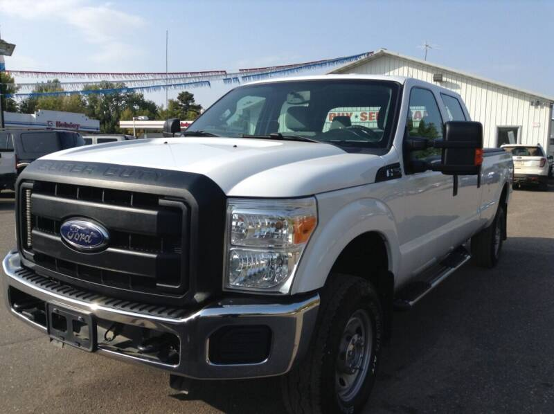 2015 Ford F-250 Super Duty for sale at Steves Auto Sales in Cambridge MN