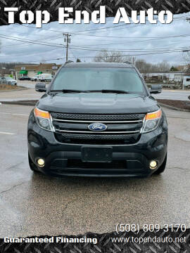 2014 Ford Explorer for sale at Top End Auto in North Atteboro MA