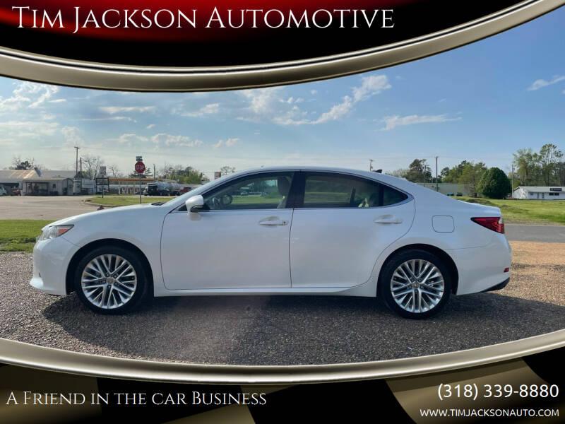 2014 Lexus ES 350 for sale at Tim Jackson Automotive in Jonesville LA