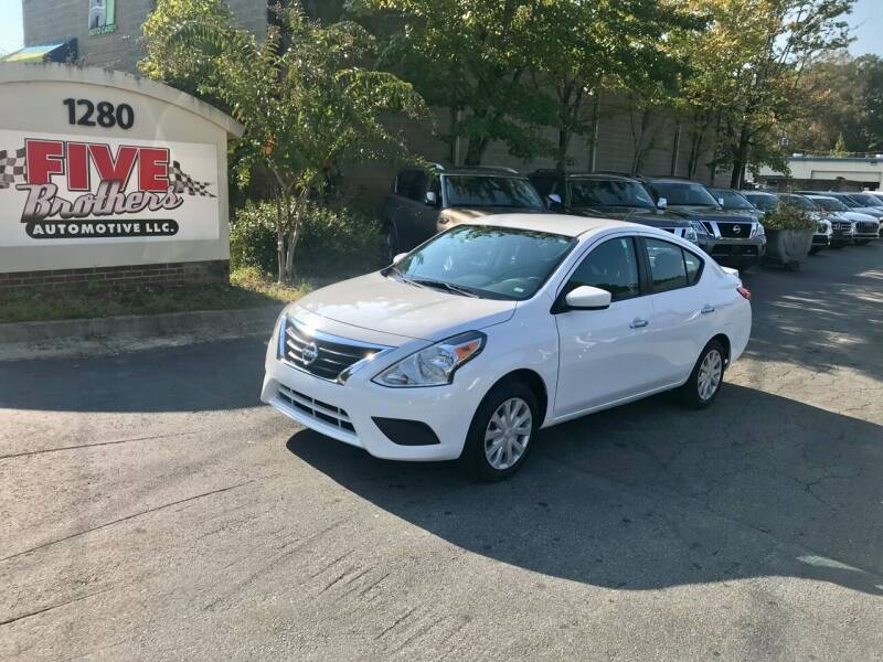2019 Nissan Versa for sale at Five Brothers Auto Sales in Roswell GA