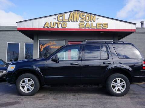 2010 Ford Explorer for sale at Clawson Auto Sales in Clawson MI