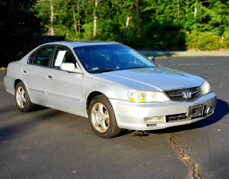 2002 Acura TL for sale at AS IS DISCOUNT CARS in Hampstead NH