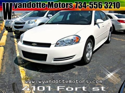 2009 Chevrolet Impala for sale at Wyandotte Motors in Wyandotte MI