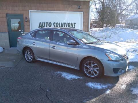 2014 Nissan Sentra for sale at Auto Solutions of Rockford in Rockford IL