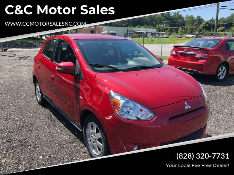 2015 Mitsubishi Mirage for sale at C&C Motor Sales LLC in Hudson NC