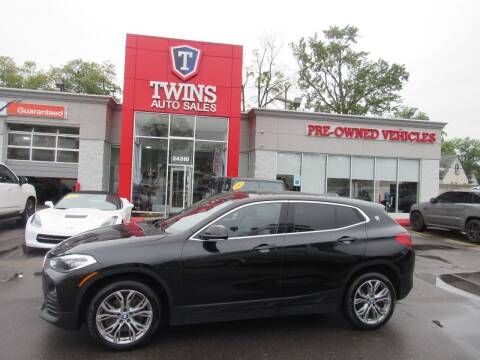 2020 BMW X2 for sale at Twins Auto Sales Inc in Detroit MI