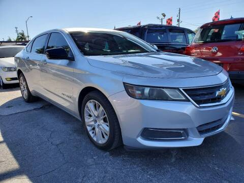 2014 Chevrolet Impala for sale at America Auto Wholesale Inc in Miami FL