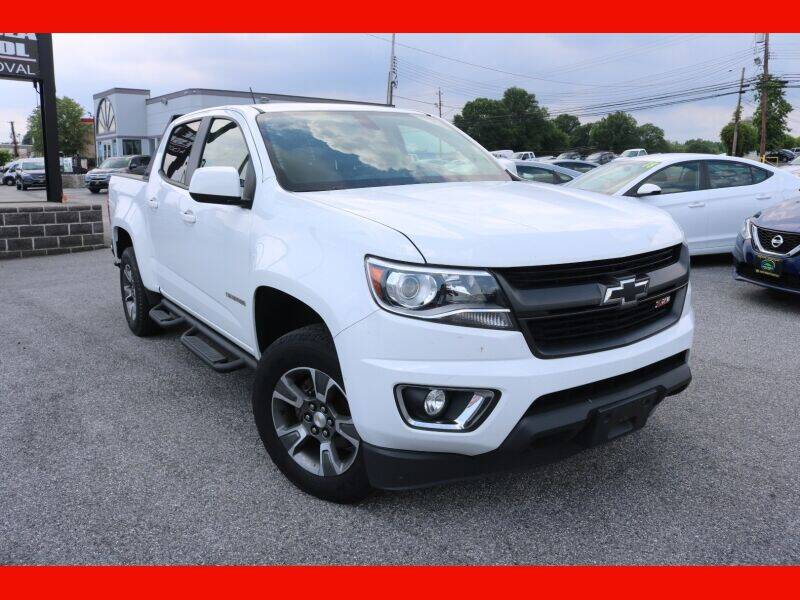 2015 Chevrolet Colorado for sale at AUTO POINT USED CARS in Rosedale MD