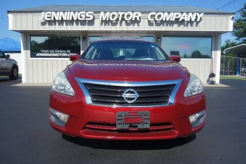 2015 Nissan Altima for sale at Jennings Motor Company in West Columbia SC