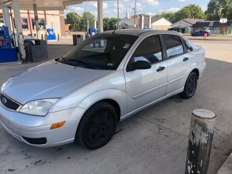 2007 Ford Focus for sale at JE Auto Sales LLC in Indianapolis IN