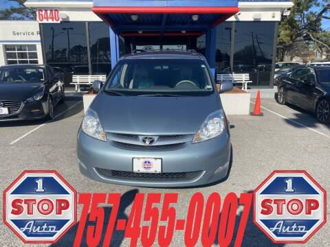 2008 Toyota Sienna for sale at 1 Stop Auto in Norfolk VA