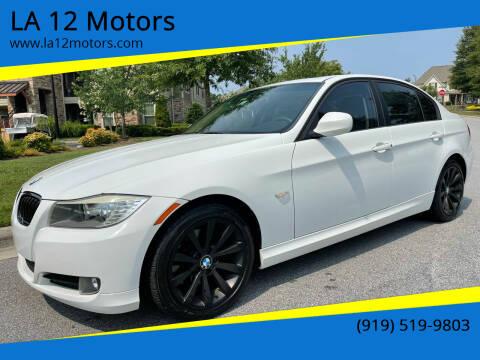 2011 BMW 3 Series for sale at LA 12 Motors in Durham NC