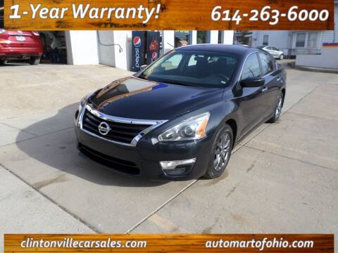 2015 Nissan Altima for sale at Clintonville Car Sales in Columbus OH