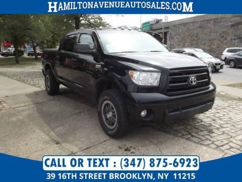 2012 Toyota Tundra for sale at Hamilton Avenue Auto Sales in Brooklyn NY