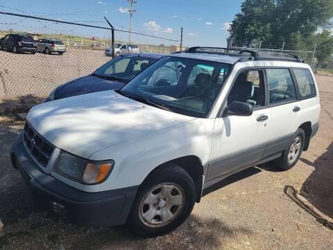 1998 Subaru Forester for sale at PYRAMID MOTORS - Pueblo Lot in Pueblo CO