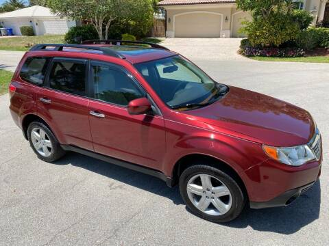 2010 Subaru Forester for sale at Exceed Auto Brokers in Lighthouse Point FL
