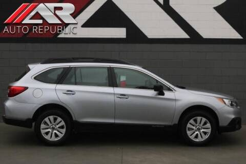 2017 Subaru Outback for sale at Auto Republic Fullerton in Fullerton CA