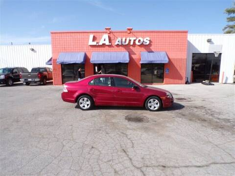 2007 Ford Fusion for sale at L A AUTOS in Omaha NE