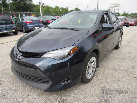 2017 Toyota Corolla for sale at King of Auto in Stone Mountain GA