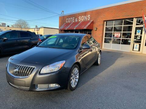2011 Buick Regal for sale at Cote & Sons Automotive Ctr in Lawrence MA