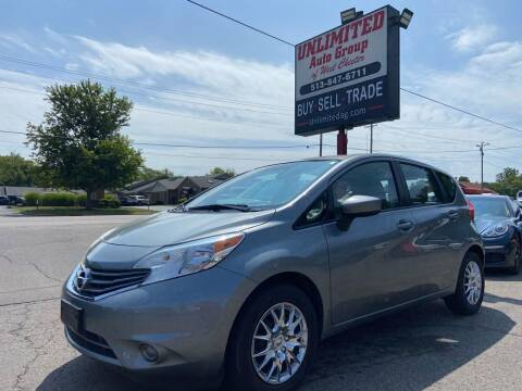 2015 Nissan Versa Note for sale at Unlimited Auto Group in West Chester OH