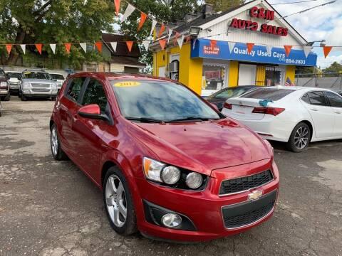 2012 Chevrolet Sonic for sale at C & M Auto Sales in Detroit MI