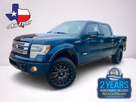 2014 Ford F-150 for sale at AUTO DIRECT in Houston TX