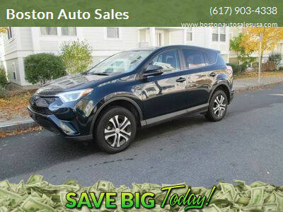 2018 Toyota RAV4 for sale at Boston Auto Sales in Brighton MA