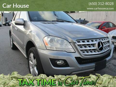 2010 Mercedes-Benz M-Class for sale at Car House in San Mateo CA