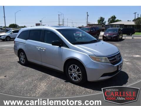 2011 Honda Odyssey for sale at Carlisle Motors in Lubbock TX