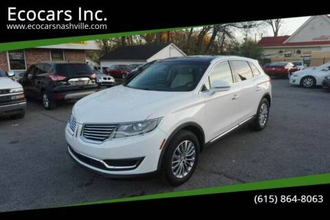 2017 Lincoln MKX for sale at Ecocars Inc. in Nashville TN