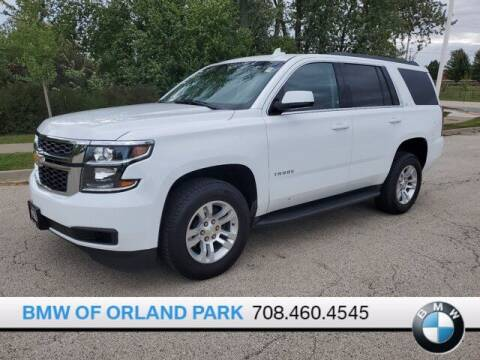 2019 Chevrolet Tahoe for sale at BMW OF ORLAND PARK in Orland Park IL