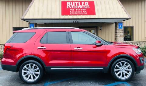 2016 Ford Explorer for sale at Butler Enterprises in Savannah GA
