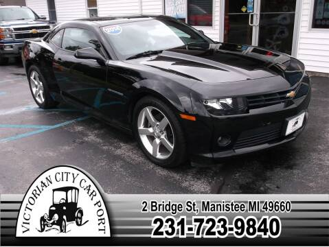 2014 Chevrolet Camaro for sale at Victorian City Car Port INC in Manistee MI