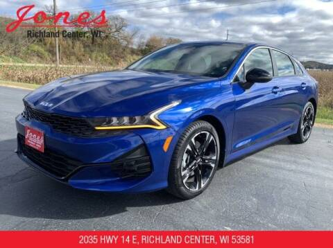 2022 Kia K5 for sale at Jones Chevrolet Buick Cadillac in Richland Center WI