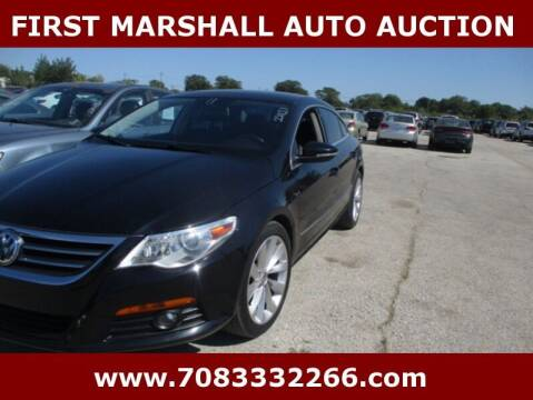 2011 Volkswagen CC for sale at First Marshall Auto Auction in Harvey IL