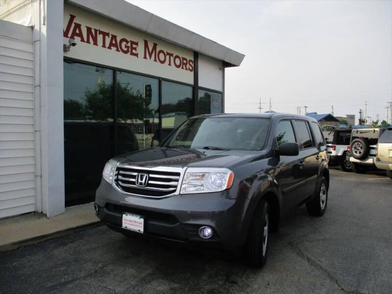2015 Honda Pilot for sale at Vantage Motors LLC in Raytown MO