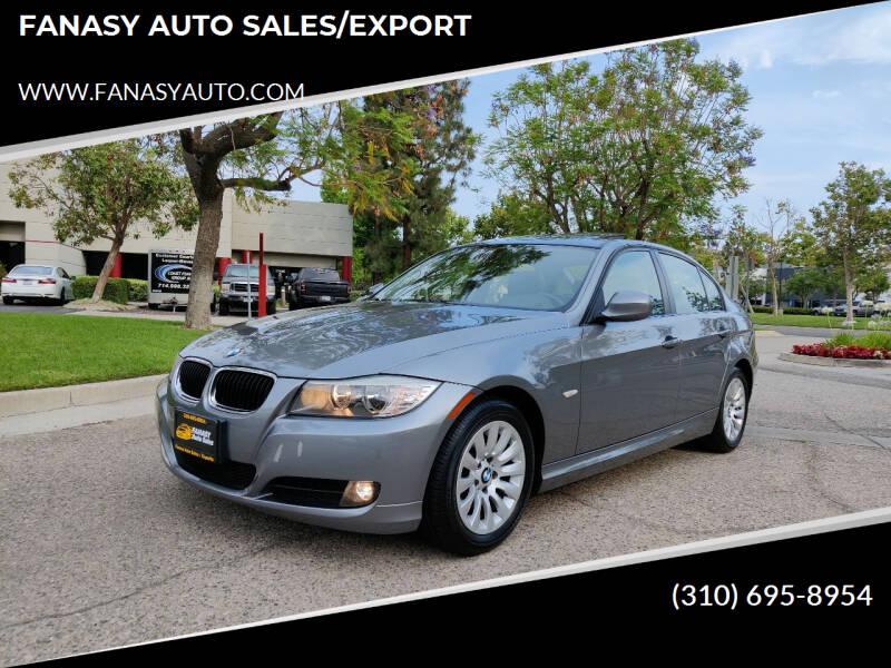 2009 BMW 3 Series for sale at FANASY AUTO SALES/EXPORT in Yorba Linda CA